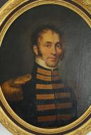 PORTRAIT D'UN ADJUDANT COMMANDANT DE PLACE, PREMIER EMPIRE. (2)