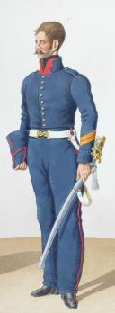 Photo 2 : 1822. Artillerie à Cheval. Officier, Brigadier.
