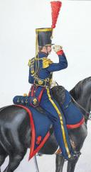 1824, Artillerie à Cheval. Capitaine Commandant. (2)