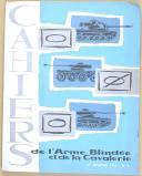 """"""" Cahiers de l'Arme Blindée et de la Cavalerie """" - Lot de cahiers d'exercices militaire - (1962-1964) (8)"""