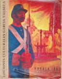 """"""" Ediciones culturales Garcia Valseca """" -  Diario de guerra - """" Journal de guerre """" - Puebla 1863"""