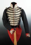 UNIFORME DE GRANDE TENUE DES GARDES DU CORPS DE LA MAISON MILITAIRE DU ROI, RESTAURATION, MODÈLE 1825. (2)