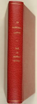 THOUMAS. (Général). Le maréchal Lannes.   (2)