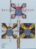 RIGO (ALBERT RIGONDAUD) : LE PLUMET PLANCHE D21 : DRAPEAUX ÉTENDARDS GRAND DUCHÉ DE HESSE (II) 1806-1814