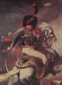Photo 2 : GÉRICAULT Théodore, OFFICIER DES CHASSEURS À CHEVAL DE LA GARDE IMPÉRIALE, PREMIER EMPIRE, GRAVURE.