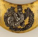 Photo 2 : HAUSSE-COL de la garde nationale, MODÈLE 1830, MONARCHIE DE JUILLET.