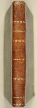 Photo 2 : VAULABELLE. Campagne et bataille de Waterloo. Paris, Perrotin, 1845, in-12 demi-rel. bas. grenat.  Avec 1 carte et 1 illustration.