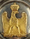Photo 3 : Ornement de poitrail d'officier de Cavalerie, Premier Empire (1804-1814).