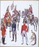 CASTERMAN, L'UNIFORME ET LES ARMES DES SOLDATS DU XIXe SIECLE - TOME 1 (3)