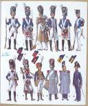 CASTERMAN, L'UNIFORME ET LES ARMES DES SOLDATS DU XIXe SIECLE - TOME 1 (5)