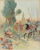 Photo 5 : TOUDOUZE GEORGES, ILLUSTRATIONS DE ROBIDA ALBERT : FRANÇOIS 1er, LE ROI CHEVALIER.