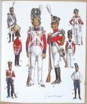 CASTERMAN, L'UNIFORME ET LES ARMES DES SOLDATS DU XIXe SIECLE - TOME 1 (6)