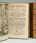 Photo 8 : BASNAGE DE BEAUVAL : HISTOIRE DES ORDRES MILITAIRES OU DES CHEVALIERS, ÉDITION DE 1721.