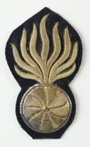 GRENADE DE PORTE-MANTEAU POUR OFFICIER DE DRAGON, SECOND EMPIRE. (1)