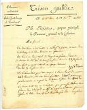 Photo 1 : TRÉSOR PUBLIC, COLONIES OCCIDENTALES, ILE DE LA GUADELOUPE, 28 SEPTEMBRE 1806, PREMIER EMPIRE.