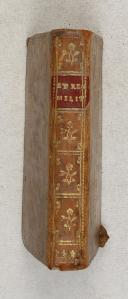 ETRENNES MILITAIRES pour l'année 1757 tirées du dictionnaire militaire.
