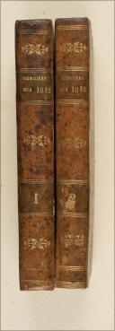 Photo 1 : FLEURY DE CHABOULON. Mémoires pour servir à l'histoire de la vie privée, du retour et du règne de Napoléon en 1815.