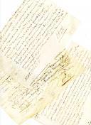 TROIS QUITTANCES MANUSCRITES ET SIGNÉES DE MAXIMILIEN TITON, directeur du Magasin Royal de la Bastille, 1672 et 1692.