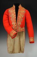 HABIT DE DÉPUTÉ CHAMBELLAN AYANT APPARTENU AU COMTE OLIVIER DE LA POËZE, DE LA MAISON DE L'EMPEREUR NAPOLÉON III, Second Empire.