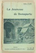 "Photo 1 : MAZÉ (Jules) – "" La jeunesse de Bonaparte "" - Tours – Mame carton."