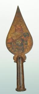 PIQUE DE DRAPEAU POUR UNE CONFRÉRIE OU UNE CORPORATION, ANCIENNE MONARCHIE. (4)