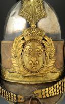 CASQUE DE LA GENDARMERIE DES CHASSES, VOYAGES ET RÉSIDENCES DU ROI, DE LA MAISON MILITAIRE DU ROI, MODÈLE 1814 MODIFIÉ 1820, RESTAURATION. (4)