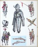 CASTERMAN, LE COSTUME ET LES ARMES DES SOLDATS DE TOUS LES TEMPS - TOME 1 & 2 (5)