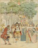 CAHU THÉODORE, ILLUSTRATIONS DE LELOIR MAURICE : LE ROI SOLEIL, LOUIS XIV. (5)