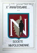 Photo 1 : Dixième anniversaire de la société napoléonienne