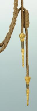 Photo 2 : AIGUILLETTE D'OFFICIER, RESTAURATION MODIFIÉE 1830.