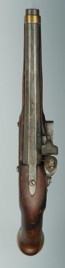 Photo 3 :  PISTOLET D'ARÇON À SILEX, type 1733/1734.