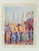 BRENTANO FRANTZ-FUNCK, ILLUSTRATIONS DE GUILLONNET O.D.V. : JEANNE D'ARC. (5)