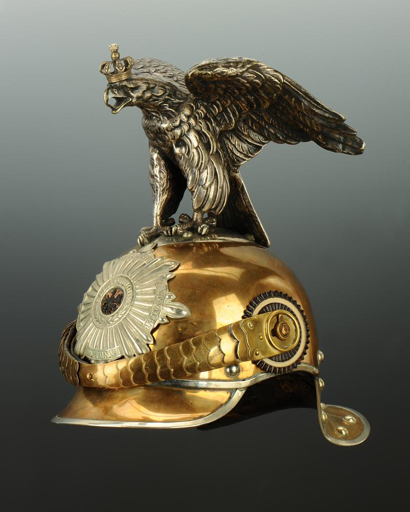 casque troupe de parade de garde du corps de la garde