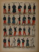"""PELLERIN - """" Infanterie de Ligne - Tous Grades & Toutes Tenues """" - Imagerie Pont-a-Mousson (1)"""