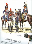 Photo 1 : ROUSSELOT LUCIEN : CUIRASSIERS OFFICIERS 1804 -1815.