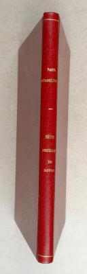 Photo 2 : DEROULEDE. (P.). 1870. Feuilles de route.