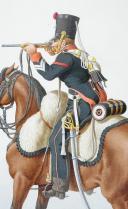 Photo 2 : 1820. Chasseurs à Cheval. (19e Régiment - de la Somme).