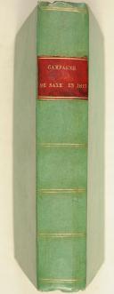 Photo 2 : ODELEBEN. (Baron d'). Relation circonstanciée de la campagne de 1813 en Saxe.