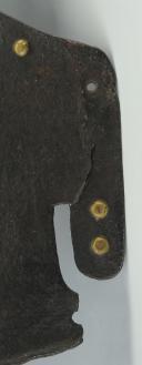 PLASTRON DE CUIRASSE DE CAVALERIE FRANÇAISE, début XVIIIème siècle, ANCIENNE MONARCHIE. (4)