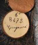 KÉPI DE SOUS-OFFICIER DE CAVALERIE LÉGÈRE, Chasseurs à cheval ou Hussards, Modèle 1884. (8)