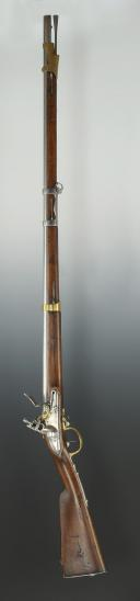 Photo 9 : FUSIL DE DRAGON MODÈLE AN IX, MANUFACTURE DE SAINT-ÉTIENNE 1810, PREMIER EMPIRE.