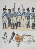L'ARMEE FRANCAISE Planche No 55 - TRAIN D'ARTILLERIE - L. Rousselot (1)