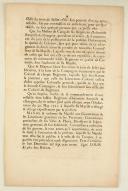 ORDONNANCE DU ROY, portant suppression de la Commission de Colonel général de l'Infanterie françoise et estrangère. Du 8 décembre 1730. 4 pages (2)