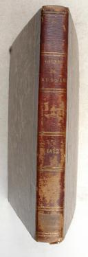 VAUDONCOURT. (Général de). Mémoires pour servir à l'histoire de la guerre entre la France et la Russie en 1812.  (3)