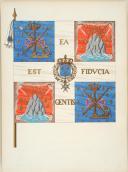 DU VIVIER – RECUEIL DES DRAPEAUX DES RÉGIMENTS D'INFANTERIE DE FRANCE - 1715 (3)