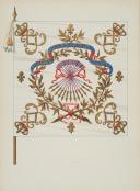DU VIVIER – RECUEIL DES DRAPEAUX DES RÉGIMENTS D'INFANTERIE DE FRANCE - 1715 (4)