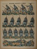 """PELLERIN - """" Infanterie Française au Combat """" - Imagerie d'Épinal - n° 151 (1)"""