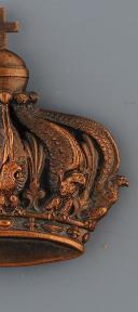 ORNEMENT POUR CRAVATE DE DRAPEAU, SECOND EMPIRE. (1)