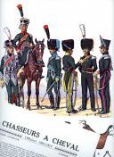 ROUSSELOT LUCIEN : CHASSEURS À CHEVAL 1804 -1815.