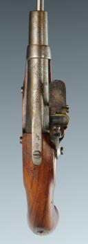 Photo 2 : PISTOLET DE GENDARMERIE, MODÈLE 1822, MONARCHIE DE JUILLET.